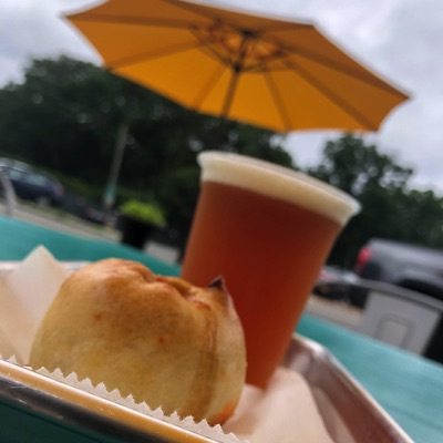 Knish and a Beer